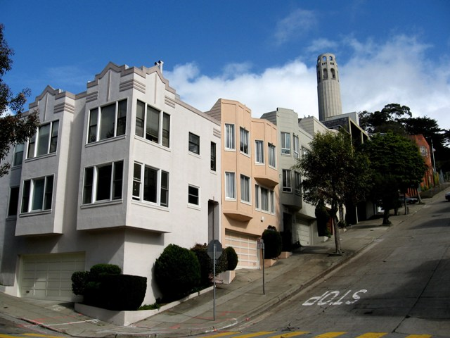 San Franciso Travel: A walk to the Coit Tower
