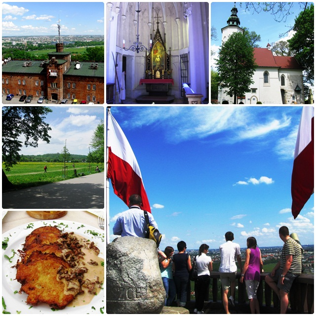 Krakow travel: Kosziuszko Mound