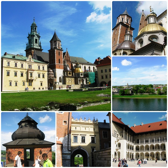 Krakow, Poland: Krakow, Poland: Wawel Hill and Royal Castle