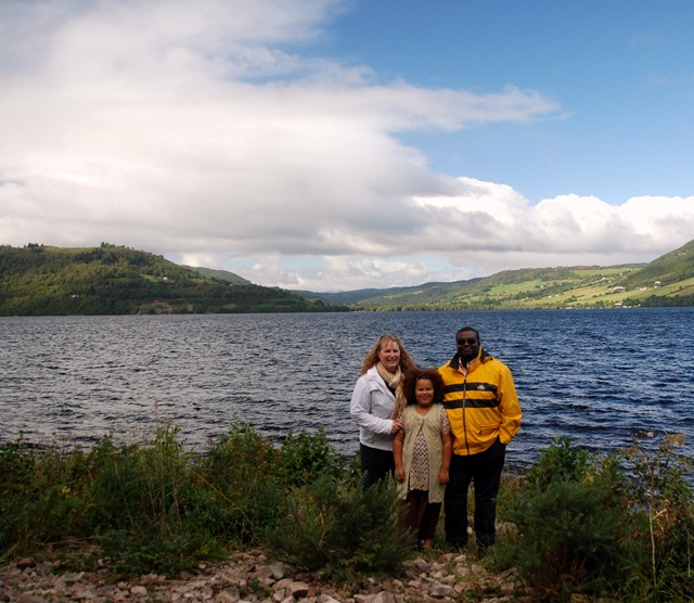 avelling together at Loch Ness