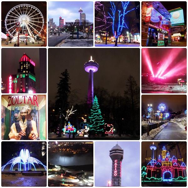 Niagara Falls, Ontario - Festival of Lights