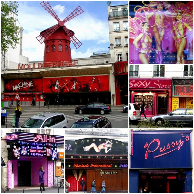 Place Pigalle and the Moulin Rouge