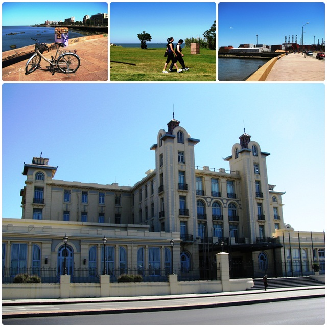 Montevideo, Uruguay: Biking along the Rambla