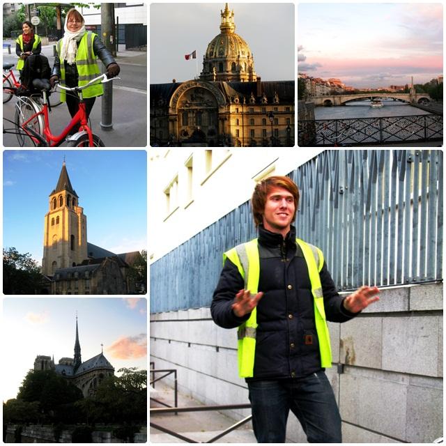 Our bike tour of Paris