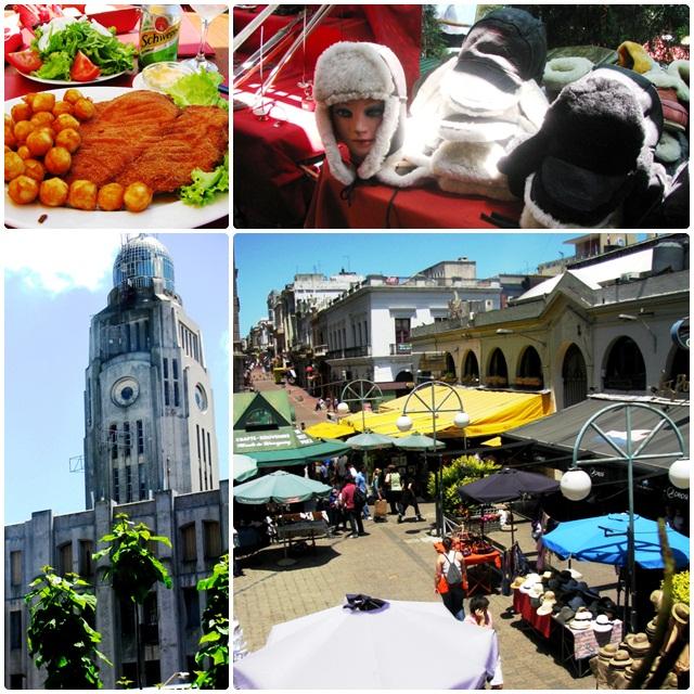 Montevideo, Uruguay: Lunch by the Mercado del Puerto