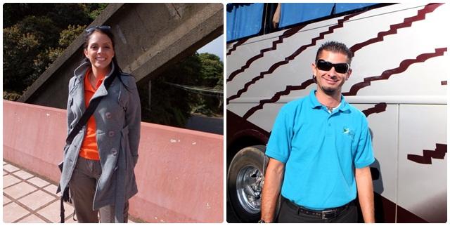 Karol & Mario, our expert Costa Rican team