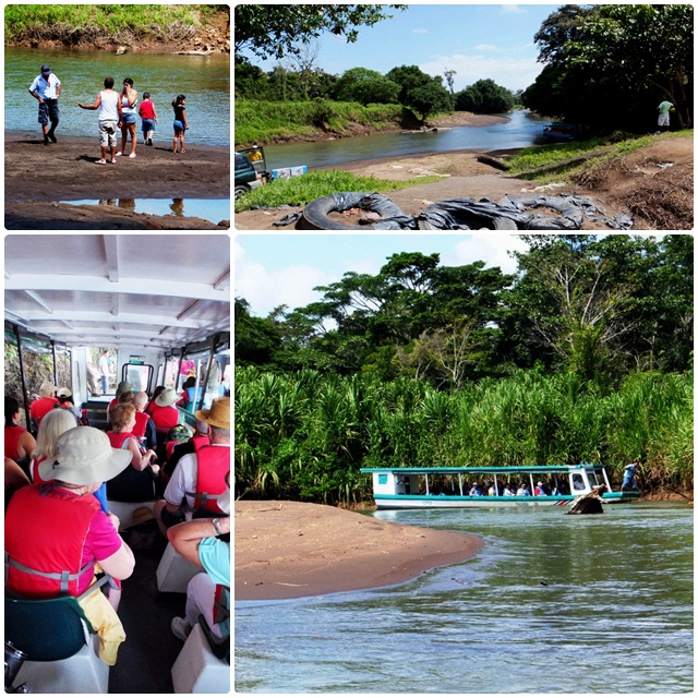 Our adventurous boat ride to Tortuguero