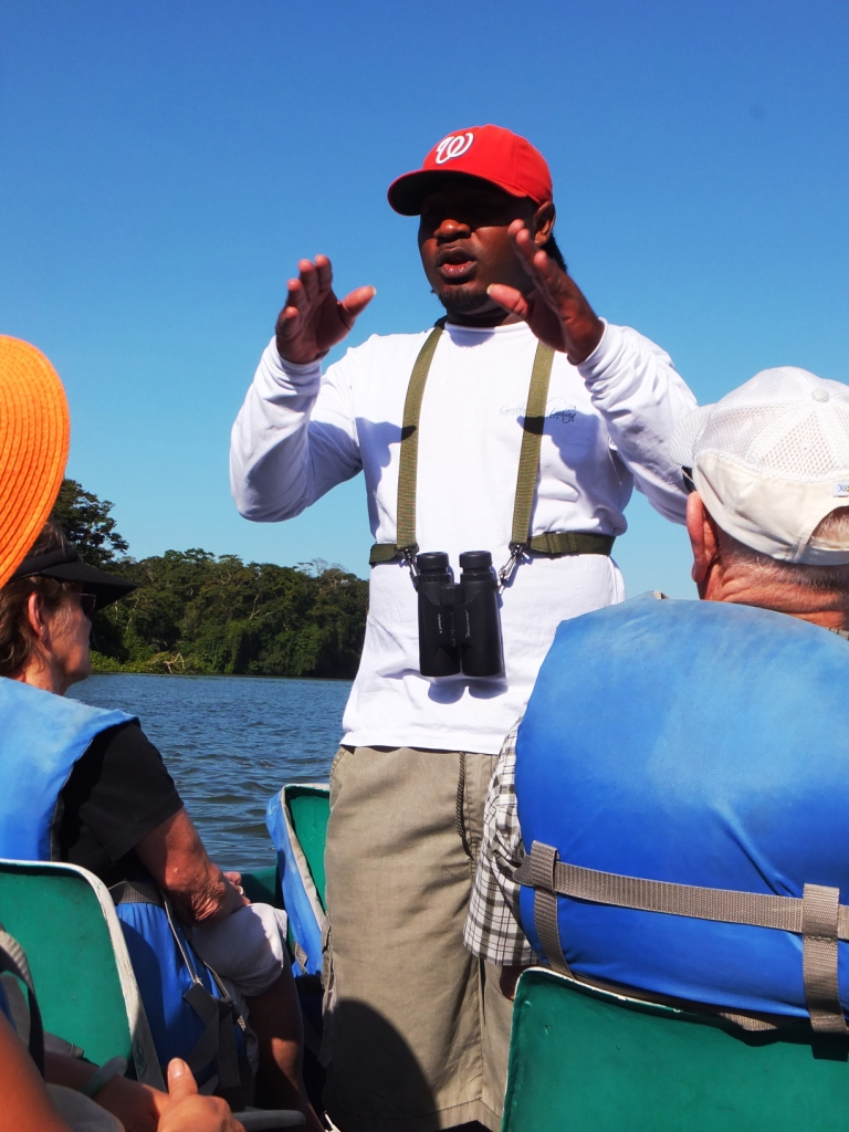 Adrian educates us about Tortuguero
