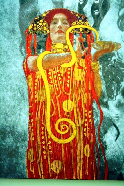 La Medicina, by Gustav Klimt