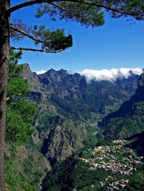 The amazing landscapes of Madeira