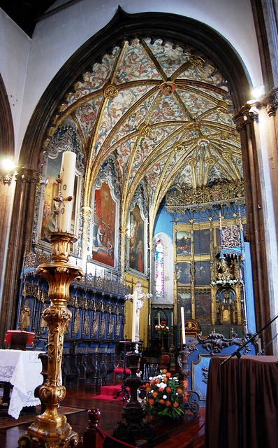 Interior of the Se Cathedral