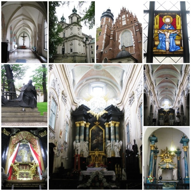 Catholic churches of Kazimierz