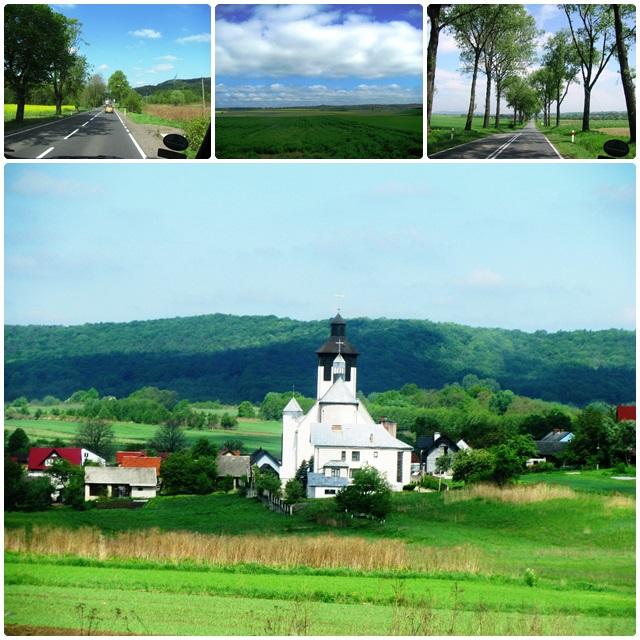 Landscapes near Auschwitz
