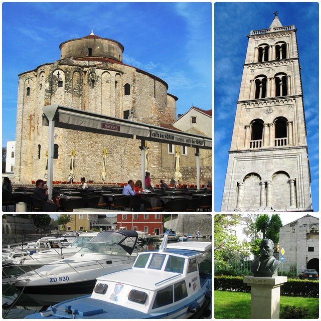 Some historic sights of Zadar