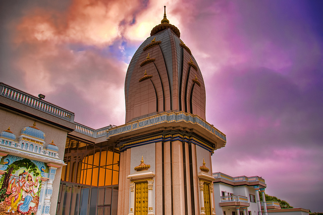Barsana Dham Hindu Temple in Austin