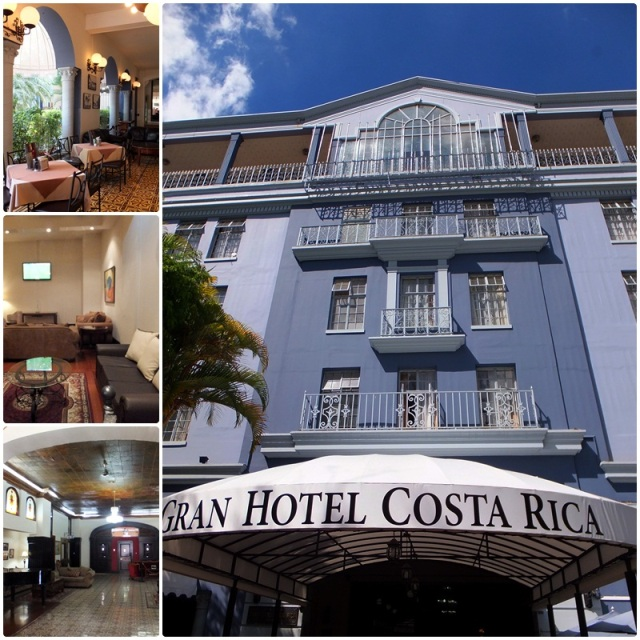 The historic Gran Hotel Costa Rica