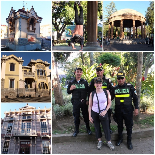 Parque Morazan and fun with the local police