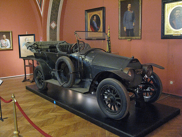 Vehicle in which Archduke Franz Ferdinand was shot