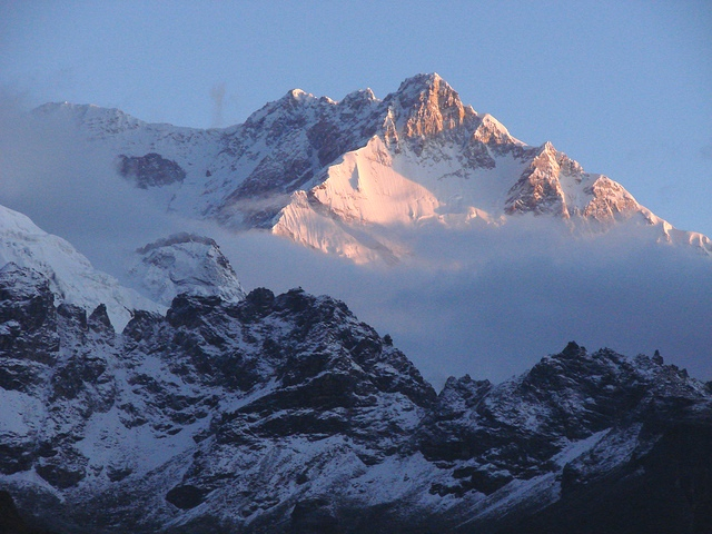 Kanchenjunga, India's highest mountain