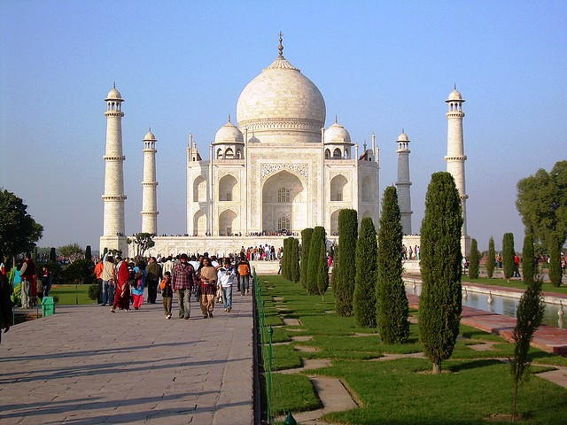 The Taj Mahal - India's most famous icon