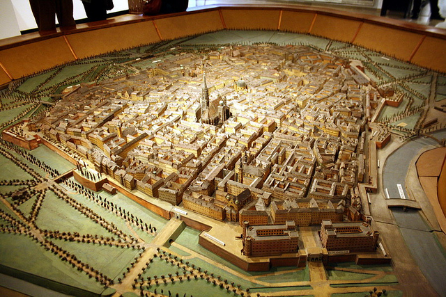 A model of the city of Vienna