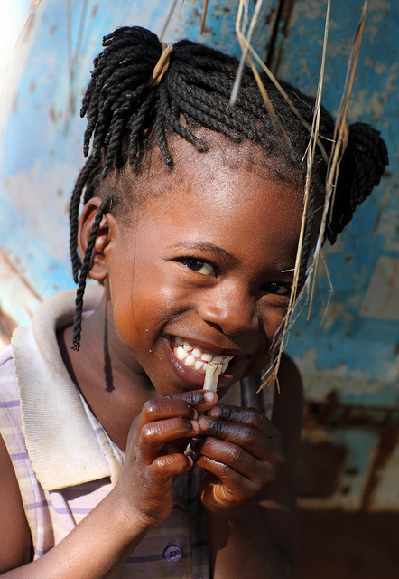 Girl from Zambia