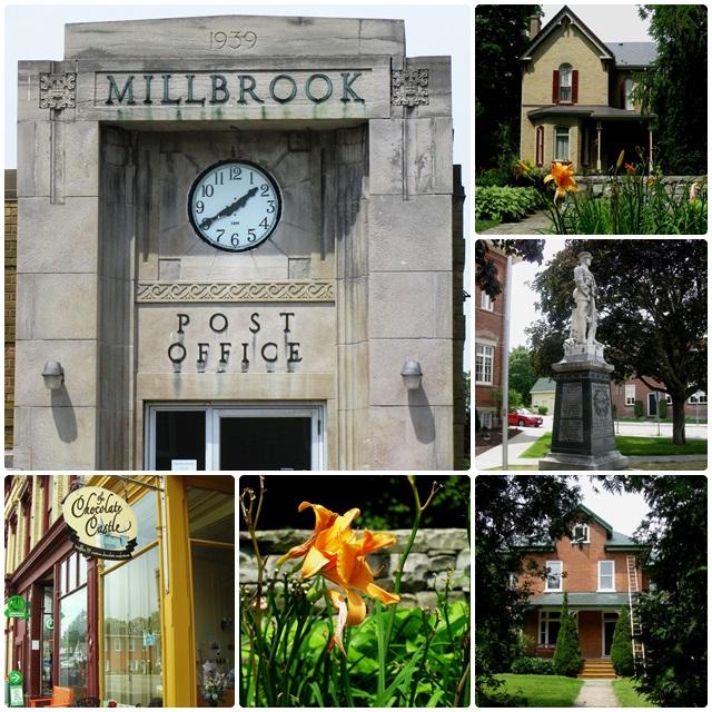 The historic village of Millbrook