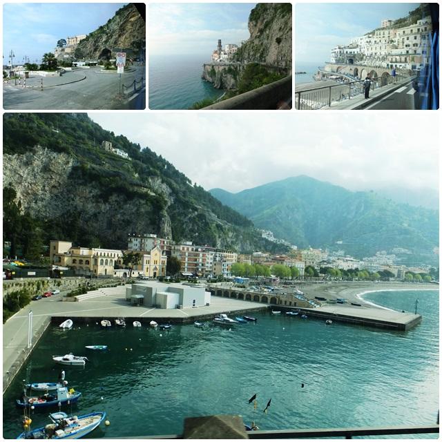 Amazing vistas of the Amalfi Coastline