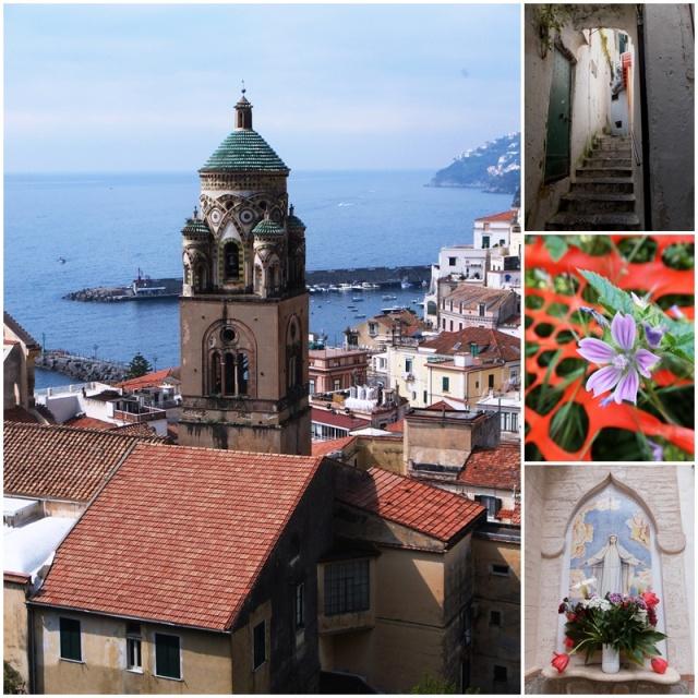 Walking up the hills of Amalfi