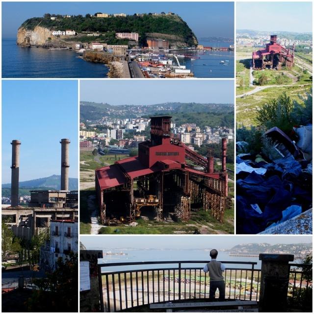 Industrial remains in Bagnoli