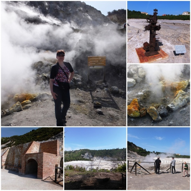 Volcanic action at the Campi Flegrei