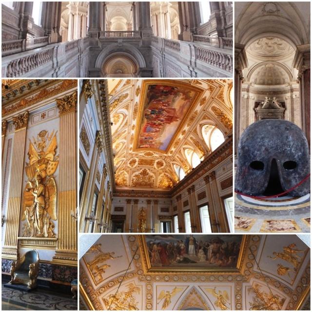 The amazing state rooms at the Reggia di Caserta