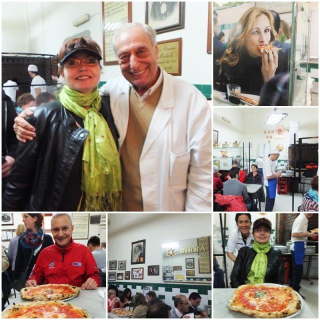Lunch at Pizzeria Da Michele