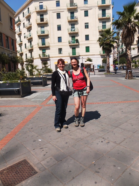 Eva and me in Salerno