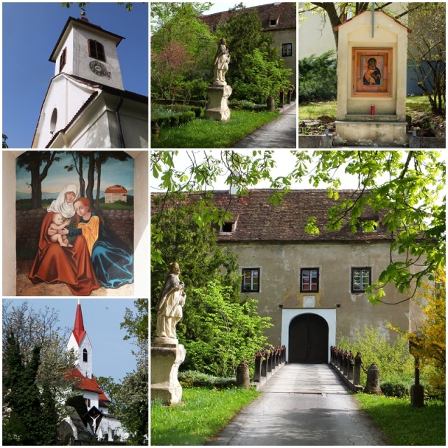 The medieval Castle of Gutenberg