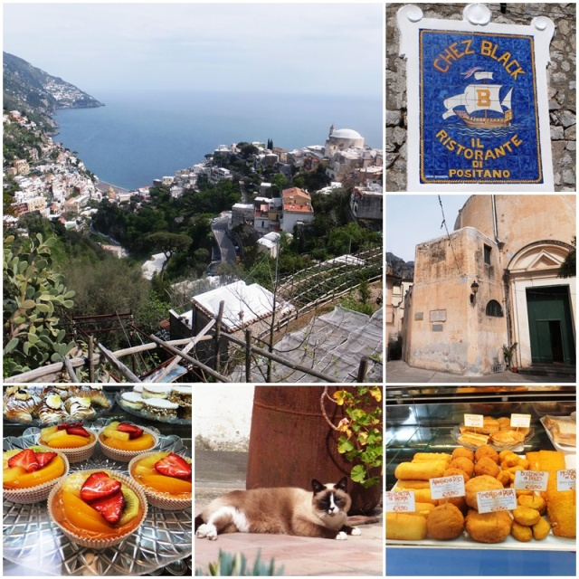 Visiting the upper part of Positano