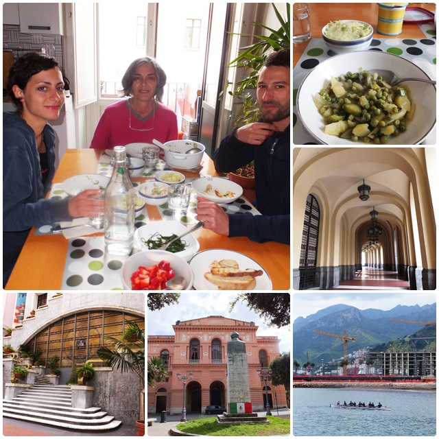 A delicious lunch with Annarosa and her family