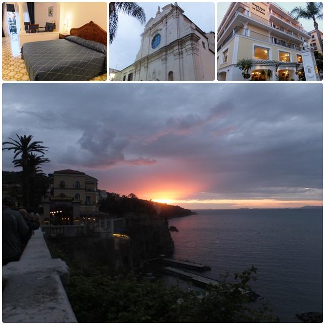 Evening in Sorrento and the Hotel La Favorita
