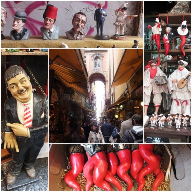 Traditional souvenirs on Via San Gregorio Armeneo