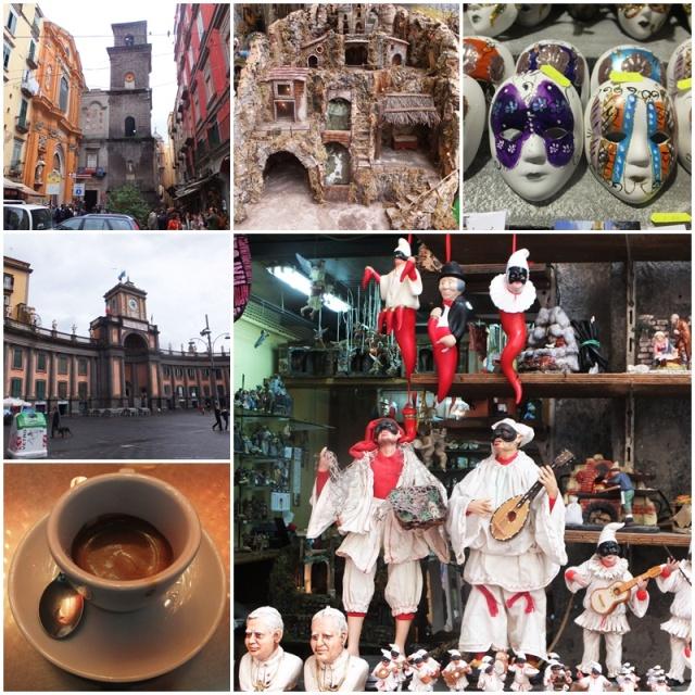 Impressions of Via Tribunali and Piazza Dante
