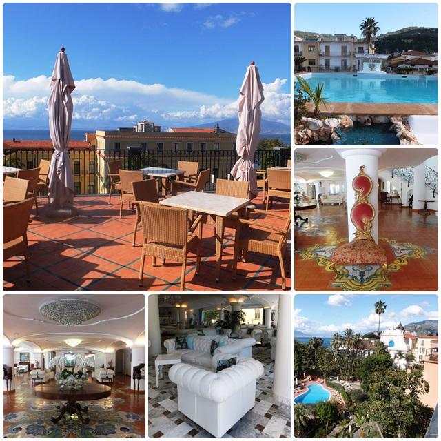 Impressive views from the Grand Hotel La Favorita