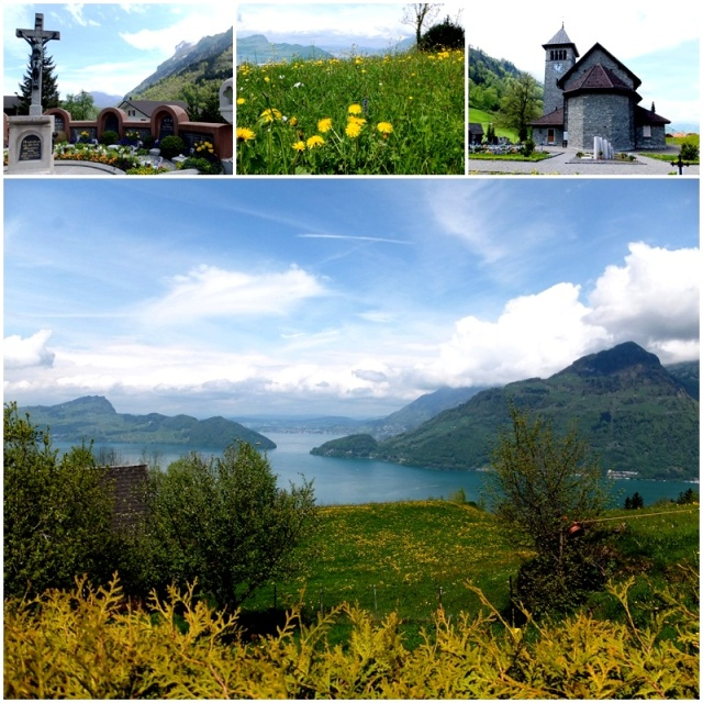 Great views of Lake Lucerne from Emmetingen