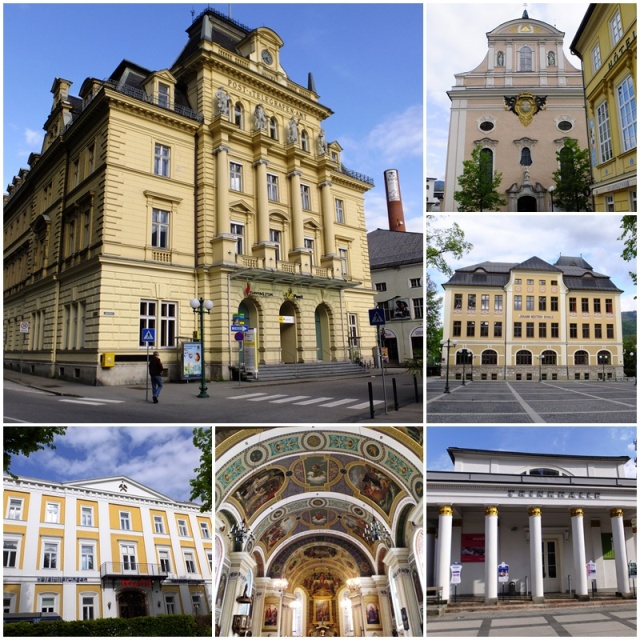 Impressive architecture in Bad Ischl