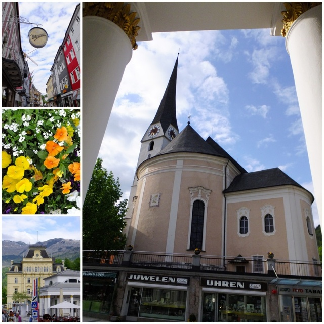 Bad Ischl is such a pretty town...