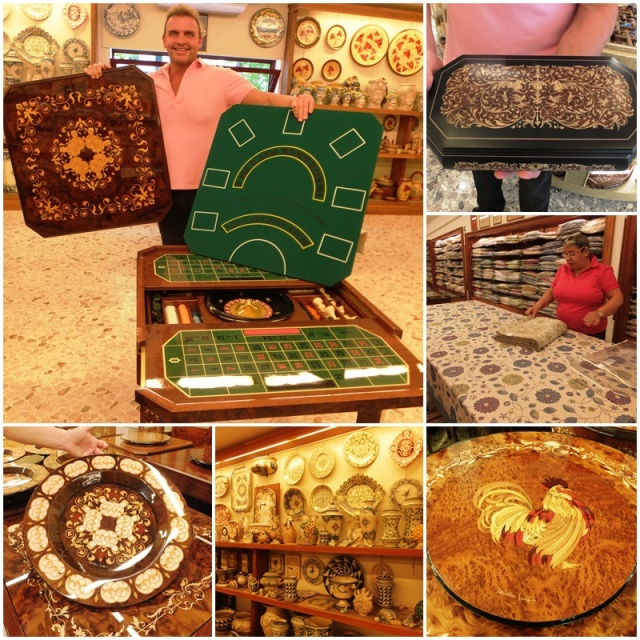 Inlaid wood is a traditional craft in Sorrento