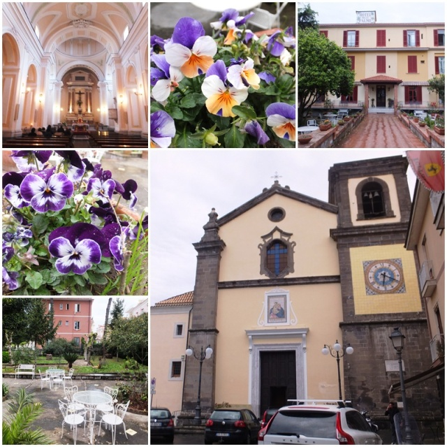 Sant'Agata, in the rain as well
