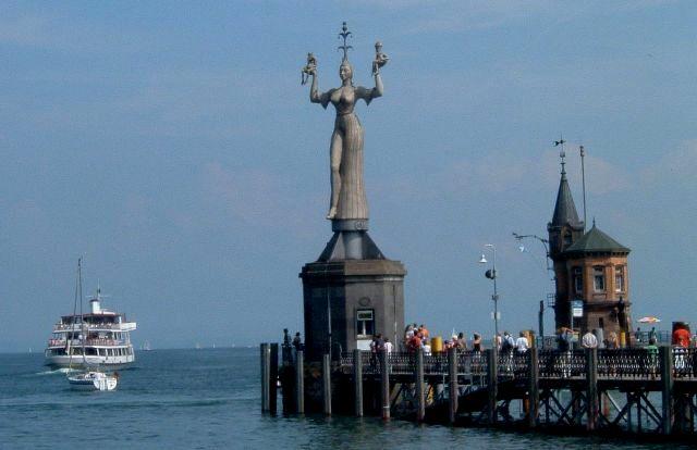 Constance's famous Imperia sculpture