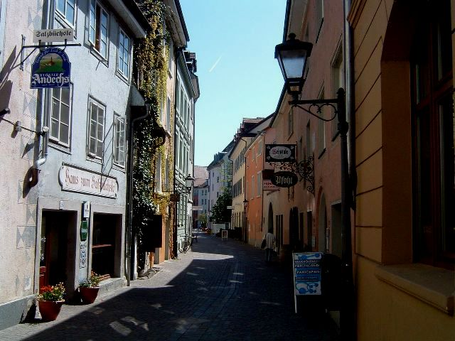 Wine taverns in Constance, Germany - Eva's home town