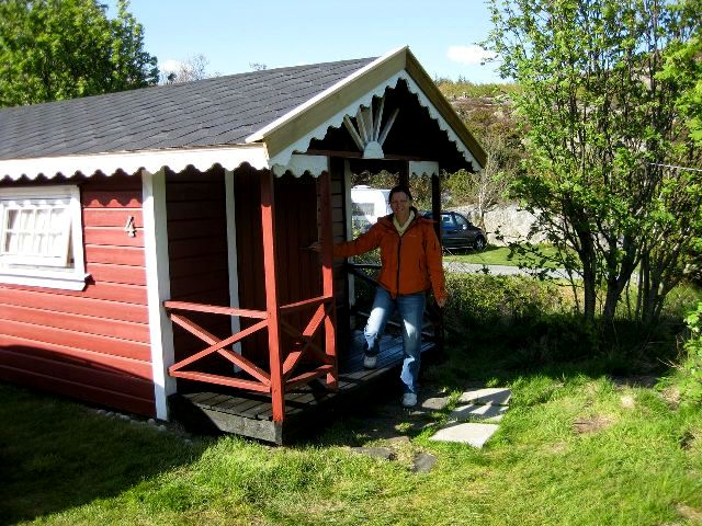 A typical hut for travellers in Norway