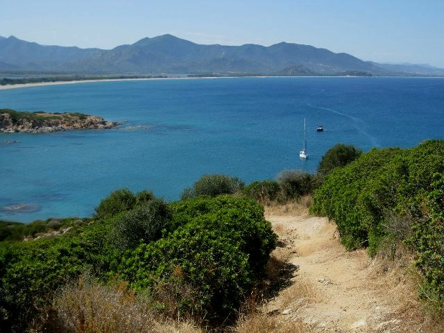 Capo Ferrato in Sardinia
